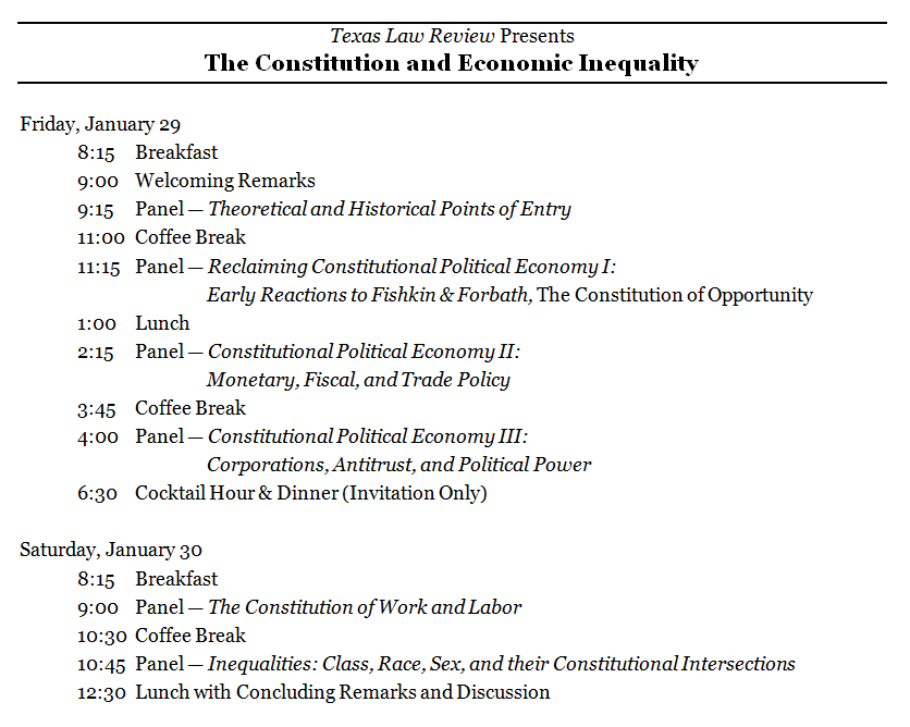 pretty schedule